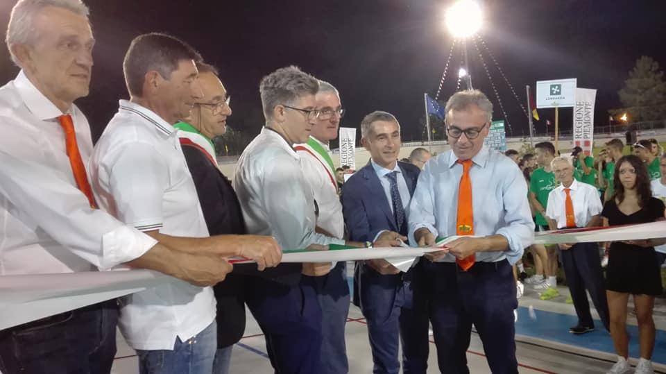 L'inaugurazione dei Tricolori