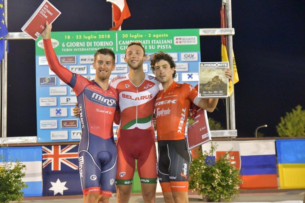 Shemetau vince la corsa a punti UCI