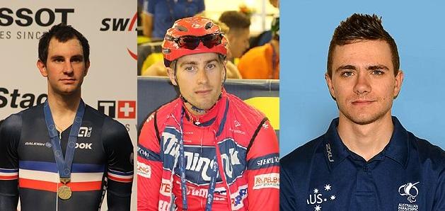 Tre campioni del mondo alla Sei Giorni