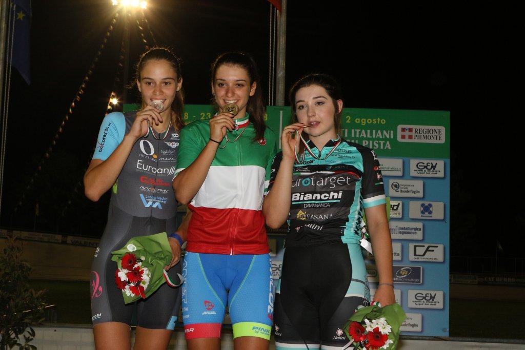 Eleonora Gasparrini regala il primo oro al Piemonte