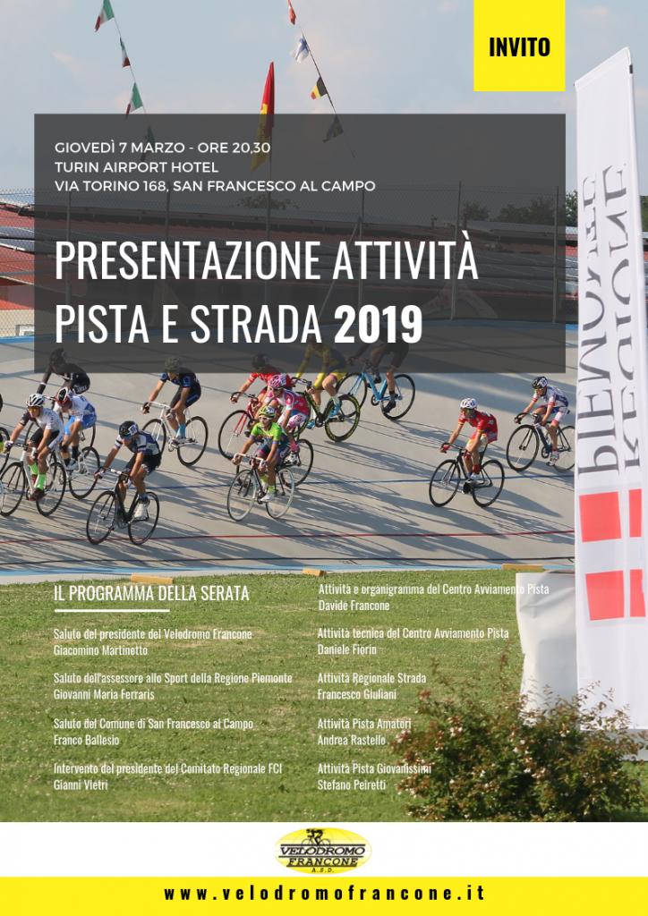 FCI PIEMONTE PROGRAMMA L'ATTIVITA' AGONISTICA 2019
